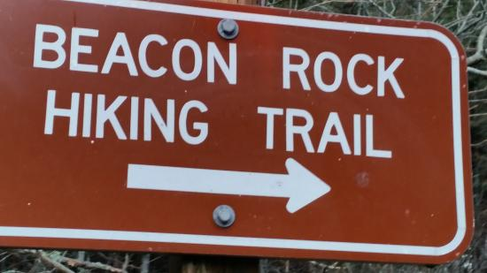 North Bonneville, WA: Trail sign