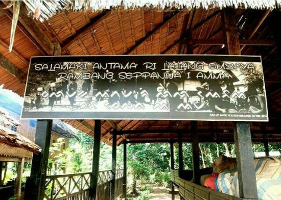Bulukumba, Indonesië: Pintu gerbang Ammatoa