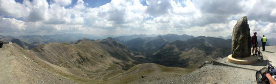 Col de la Bonette : Geweldig uitzicht