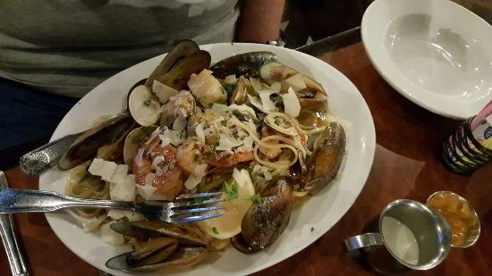 Red White & Brew: Seafood pasta