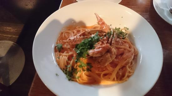 Mother Moon Cafe: ワタリガニのパスタ
