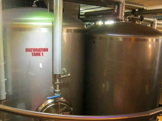 Old Harbor Brewery: Craft beer tanks