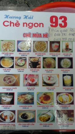 Che Huong Hai 93 Hang Bac