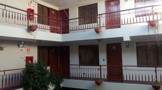 أنتاواسي كوسكو: Área dos quartos