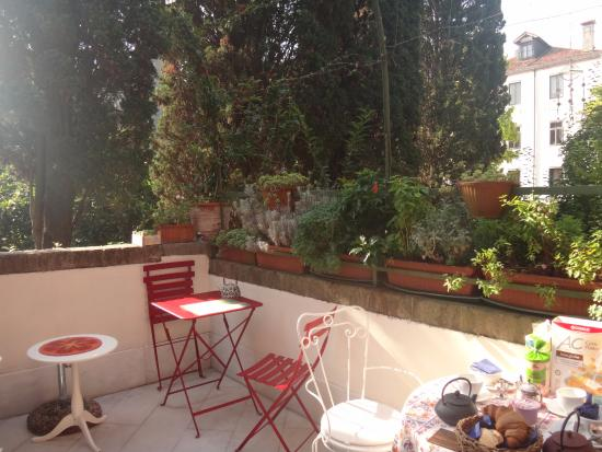 B&B Casa Baseggio: Breakfast area