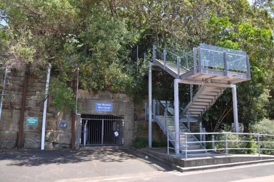 Royal Australian Navy Heritage Centre: Tunnel entrance
