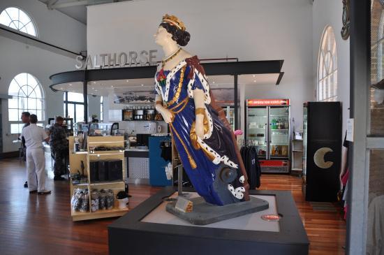Royal Australian Navy Heritage Centre: Figurehead