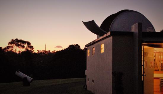 Mapleton, Αυστραλία: twilight with 2 telescopes