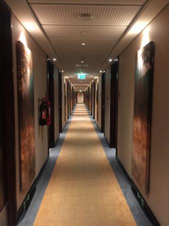Centro Yas Island Abu Dhabi by Rotana: hallway