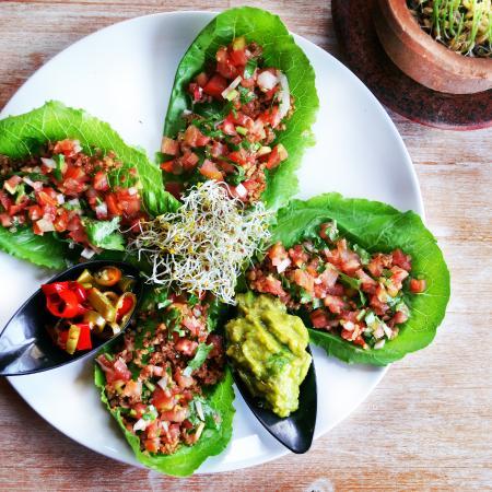 Earth Cafe & Market : Raw Tacos by Earth Cafe Ubud
