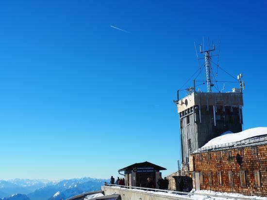 Münchner Haus 2964m Picture of Zugspitze Garmisch