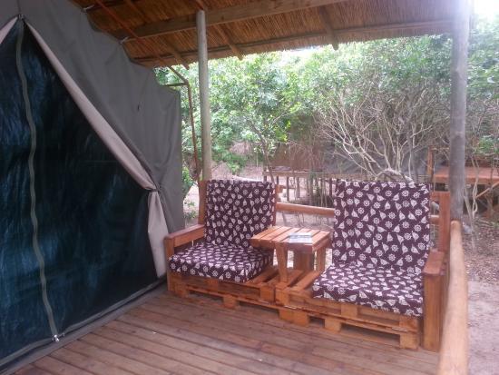 Zitundo, Mozambique : Veranda