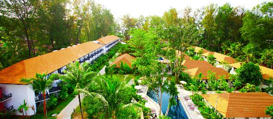 Nai Yang Beach Resort and Spa: Resort View