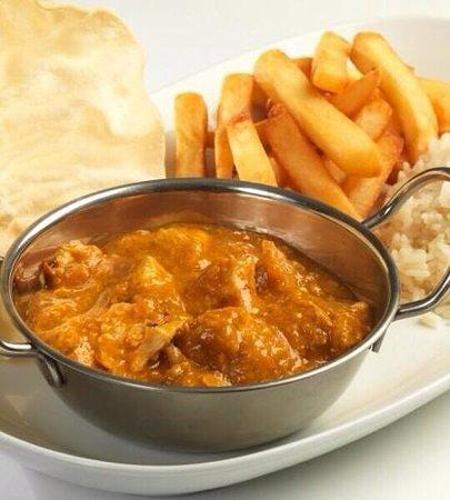 Bolton, UK: Home Made Chicken Curry