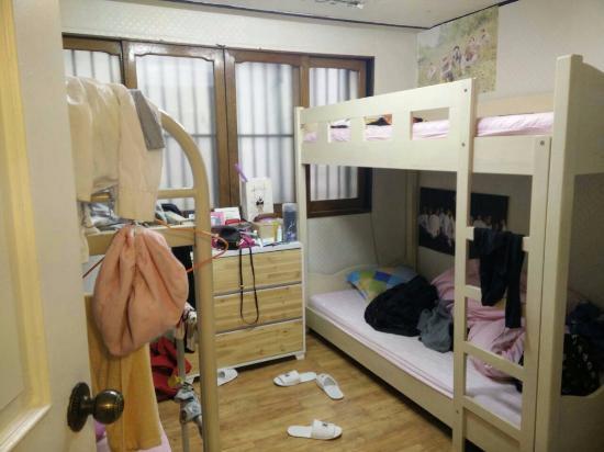 Ewha DH guesthouse : ห้องพักรวมแบบ Dorm สำหรับพัก 4 คน (ผู้หญิงเท่านั้น)