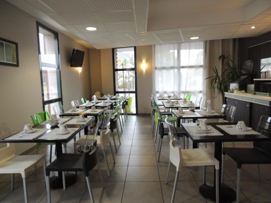 Inter-Hotel Novella Nantes Carquefou : Salle Petit Déjeuner
