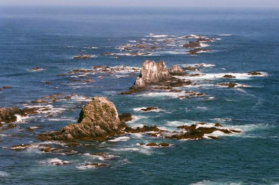 Minshuku Senba: 紺碧の襟裳の海