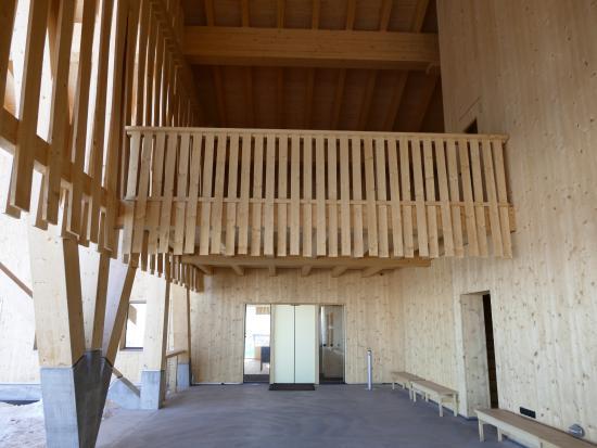 Unterwasser, สวิตเซอร์แลนด์: Holz war das Baumaterial