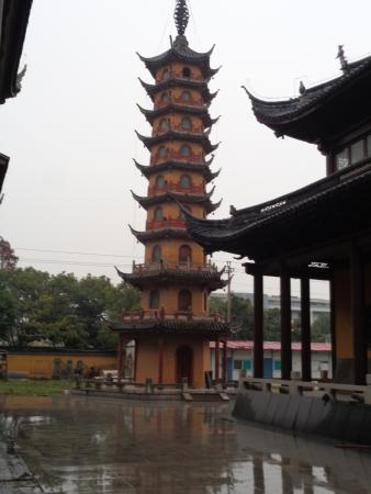 Jiashan County, China: Magnificent 9-storey Pagoda