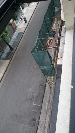 Serena Hotel: вид из окна