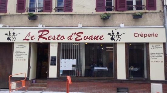 Aix-en-Othe, Francia: Le Resto d'Evane
