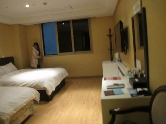 Seoul Stars Hotel: ห้องนอน