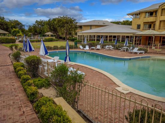 Pool Area Picture Of Abbey Beach Resort Busselton