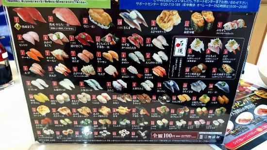 くら 寿司 メニュー