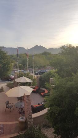 Hilton Garden Inn Scottsdale North/Perimeter Center: View from my room