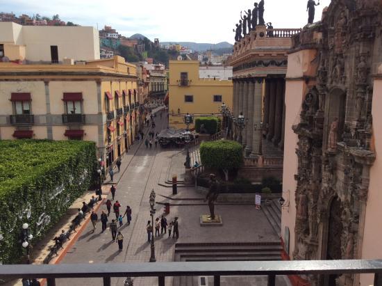 Hotel San Diego: Vista de la habitación (diurna)