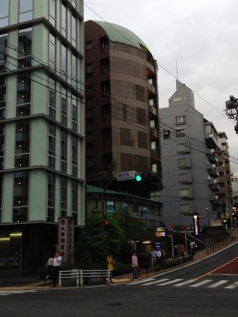 Ochanomizu St . Hills Hotel: 外観