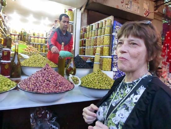 Under Moroccan Sun, LLC - Morocco Tours Specialist: My mom in olive paradise