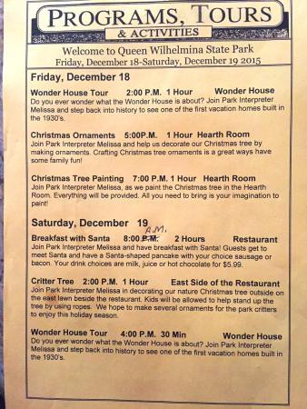 Queen Wilhelmina Lodge: Tours and Activities