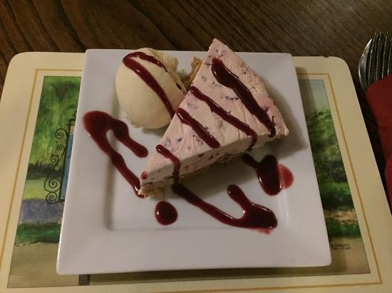 Kimbolton, UK: Cheese Cake