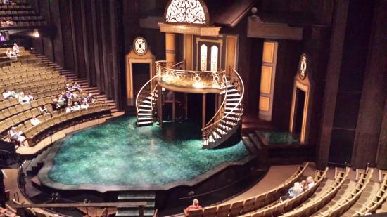 Festival Theatre Thrust Stage Picture Of Stratford