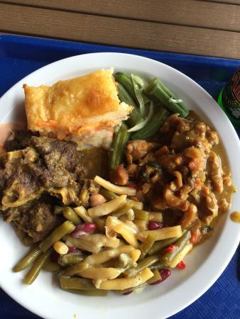 Creole Shack: vom Buffet