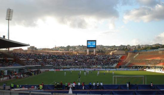 Province of Catania, Italia: Catania 1-0 Atalanta. 20 Sept. 2008