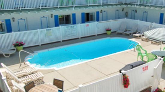 Tradewinds Motel: Outdoor swimming pool