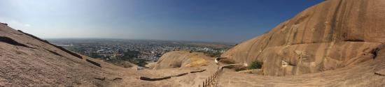Bhongir Fort: View