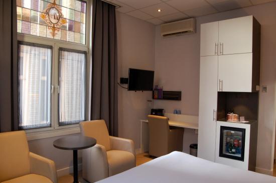 Hotel Amsterdam - De Roode Leeuw: La chambre