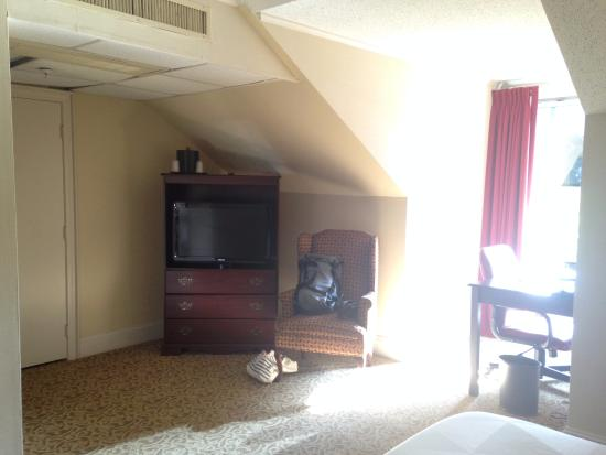 Ramada Seekonk Providence Area: Not bad for space.