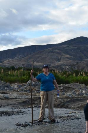 Ambuqui, Ecuador: rio chota