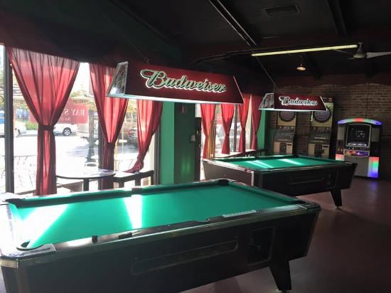 We Also Have Pool Tables And Dart Boards Picture Of Bay Street Bar - Pool table jacksonville fl