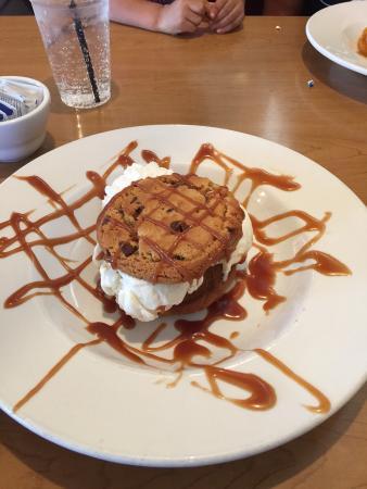 Mount Lemmon, AZ: chocolate chip sandwich cookie