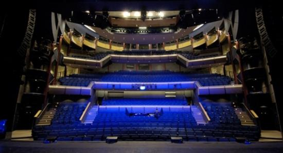 Milton Keynes Theatre: Interior of MK Theatre