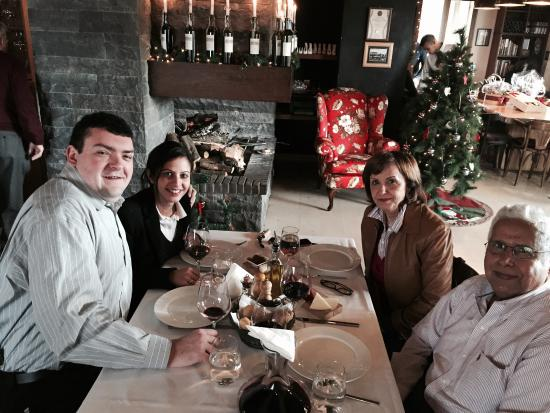Bhamdoun, Libanon: In the restaurant Le Telegraph
