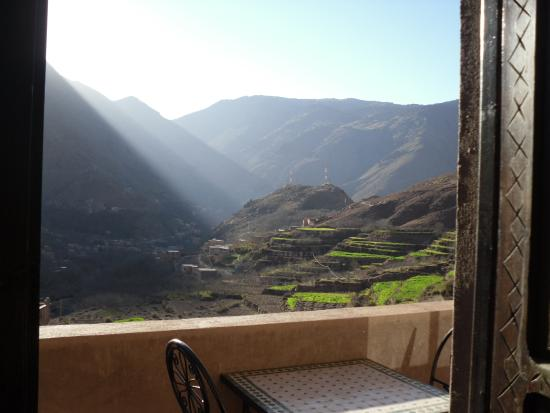 Imlil Lodge : View from our room