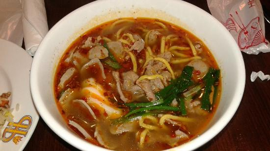 West Saint Paul, Миннесота: Spicy soup made to order