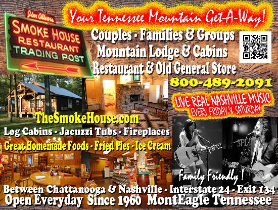 Monteagle, TN: Your Tennessee Mountain Getaway for couples and families.