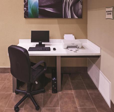 La Quinta Inn & Suites Dallas - Las Colinas: Business center